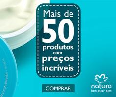 Natura 50% de Desconto